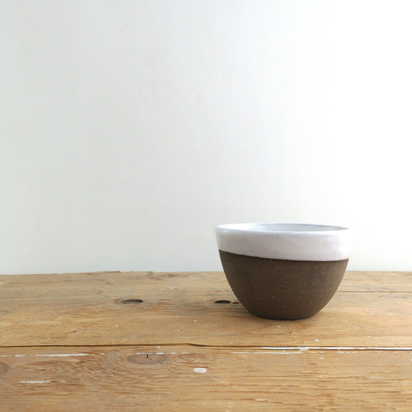handmade pottery Made in Canada Atelier Trema latte bowl in Edmonton
