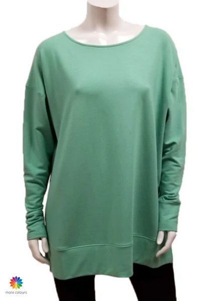 Gilmour Clothing Bamboo French Terry Banded Tunic