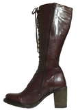 Relance Tall Leather Lace-Up Boot