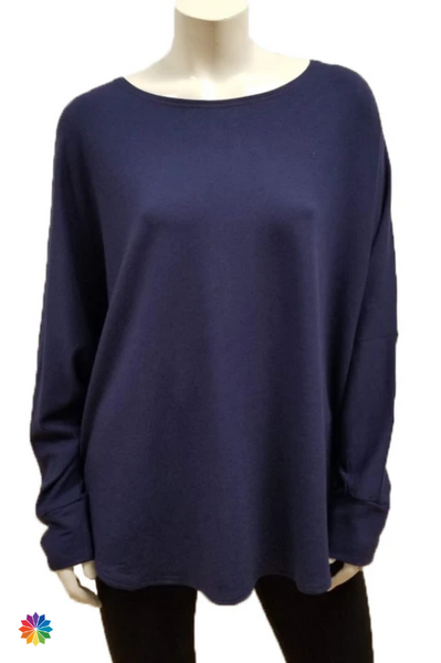 Gilmour Clothing Bamboo French Terry Shirttail One Size Sweatshirt {In Store}