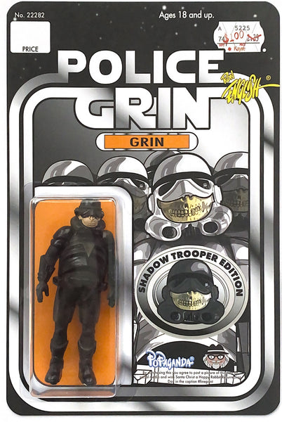 Police Grin Action Figure - Shadow Edition