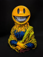 Mona Lisa Grin - Blue/Yellow