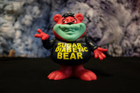 Sugar Diabetic Bear Black colorway