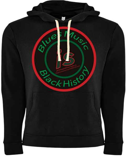 Black History Month Blues Hoodie