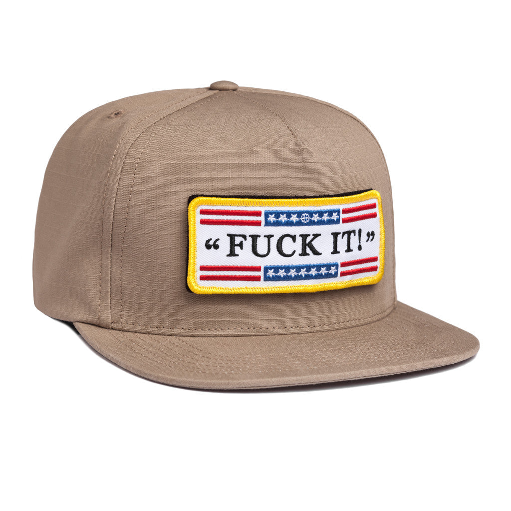 huf-staging - TACTICAL FUCK IT RIPSTOP SNAPBACK    TAN aeef76296c2