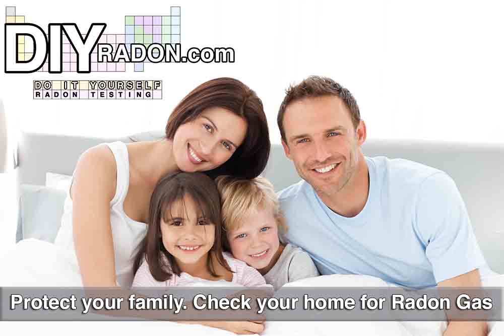 Check for radon gas