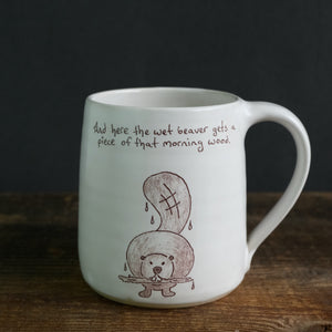 Educational Wildlife Series - Beaver Mug
