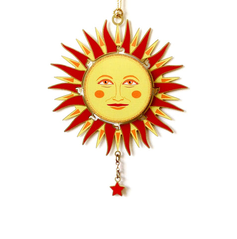 Radiant Sun Ornament