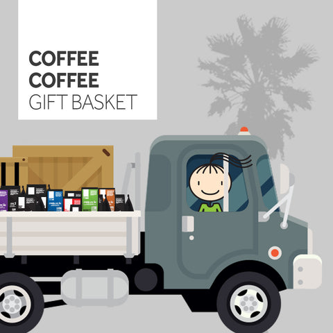 The Coffee Coffee Gift Basket