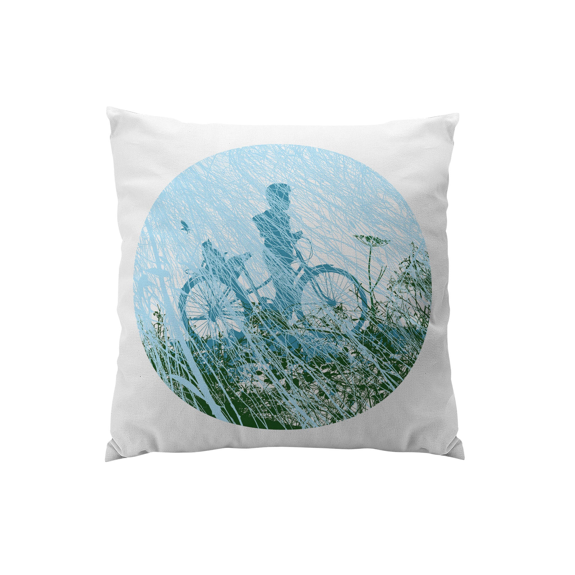 throw pillows and sparkling pillow geometric white green beautiful of blue