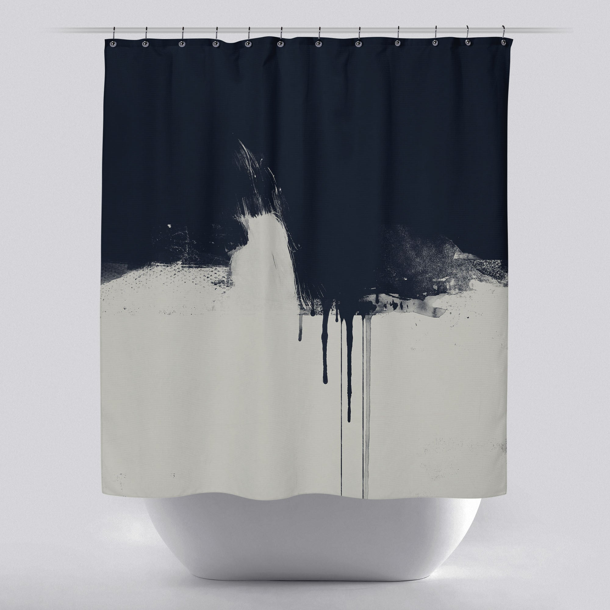 shower products curtains grey snowe standing luxury curtain linen tub