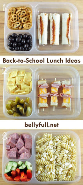 bellyful back to school lunch ideas