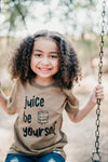 JUICE be yourself | sand tee