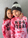 Hug squad | tie dye long sleeve