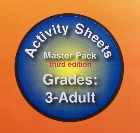 The Private Eye Activity Sheet Master Pack: Intermediate Level (3rd Grade - Adult) THIRD EDITION