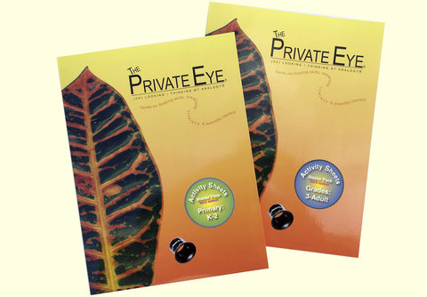 The Private Eye Activity Sheet Master Pack: Primary Level (K - 2nd Grade) THIRD EDITION