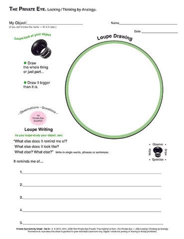 Activity Sheet 2.01: Circle Frame