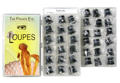 The Private Eye Class Loupe Set