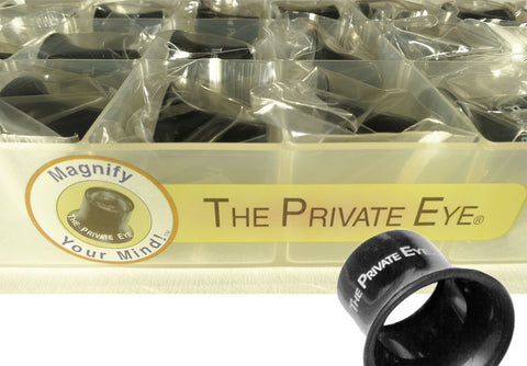 The Private Eye Class Loupe Set closeup of box and loupe
