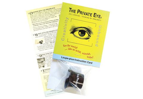 The Private Eye Loupe with Instruction Card