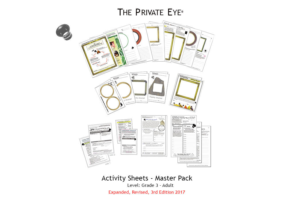 The Private Eye Activity Sheet STEM Master Pack: