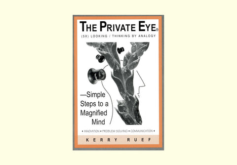 The Private Eye Simple Steps to a Magnified Mind front cover