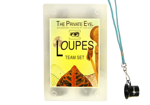 The Private Eye Team Loupe Set with Lanyards