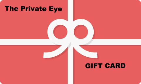The Private Eye Gift Card
