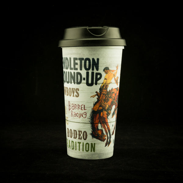 Pendleton Round-Up Typography Tumbler