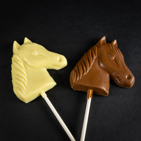 Pendleton Round-Up Chocolate Horse Head On A Stick