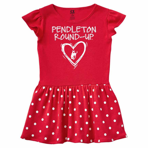 Infant Pendleton Round-Up Polka Dot Dress