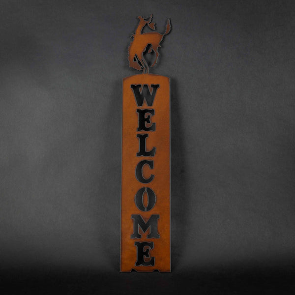 Pendleton Round-Up Metal Welcome Sign