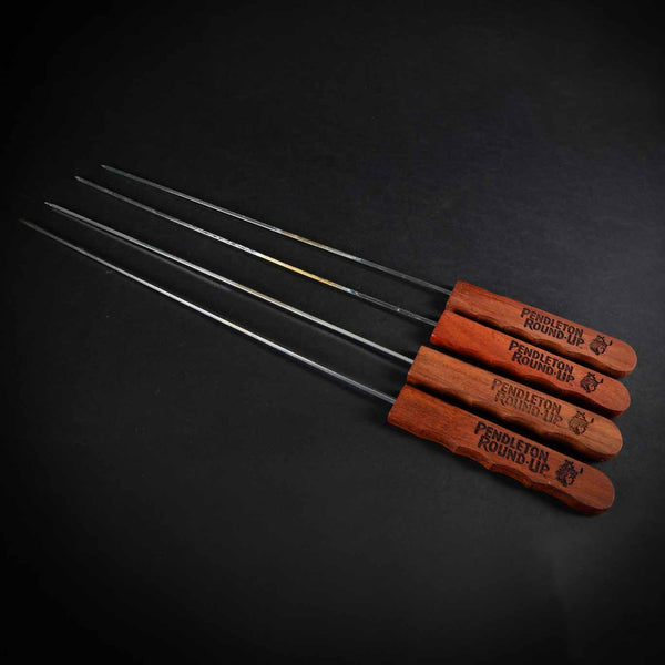 Pendleton Round-Up 4 pc Skewer Set