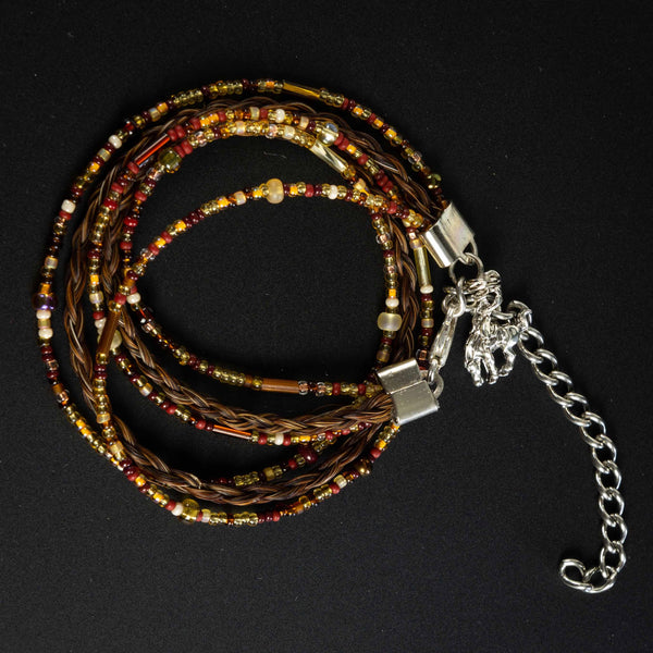 Pendleton Round-Up Horse Hair Wrap Bracelet