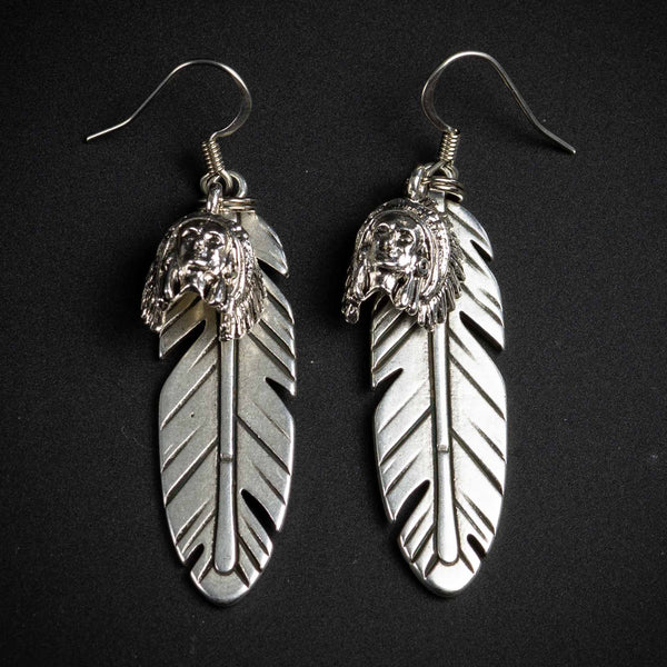 Happy Canyon Feather Earrings