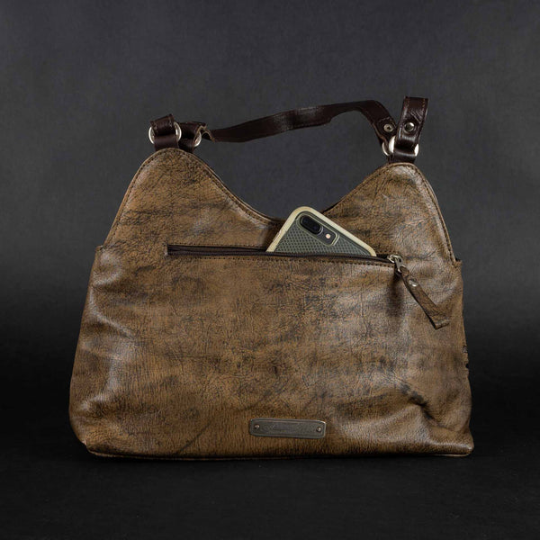 Pendleton Round-Up Hitchin' Post Leather Purse
