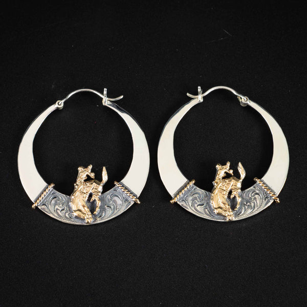Pendleton Round-Up Vogt Hollow Disc Earrings