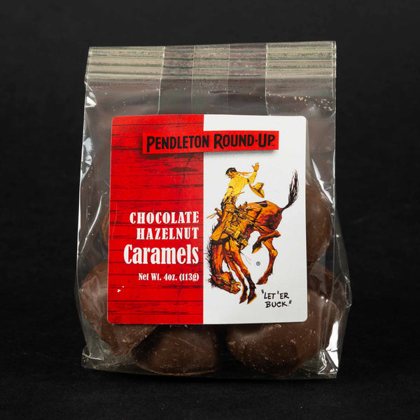 Pendleton Round-Up Chocolate Hazelnut Caramels