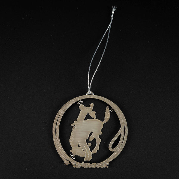 Pendleton Round-Up Rope Bucking Horse Ornament