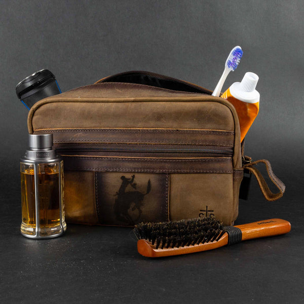 Pendleton Round-Up STS Ranchwear Leather Shave Kit