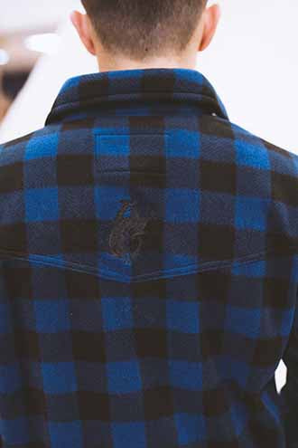 Men's Outback Pendleton Round-Up Button Up Fleece