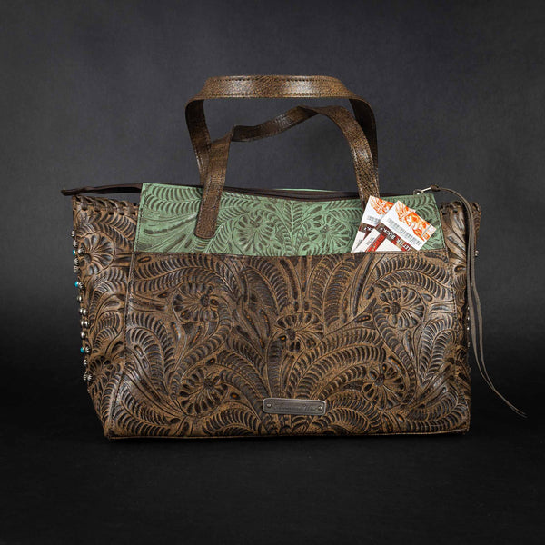 Pendleton Round-Up Rio Grande Leather Purse