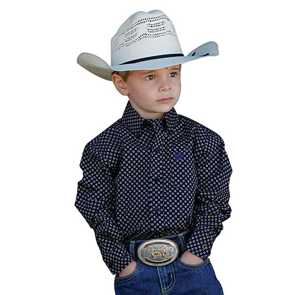 Toddler Cinch Pendleton Round-Up Long Sleeve Button Up