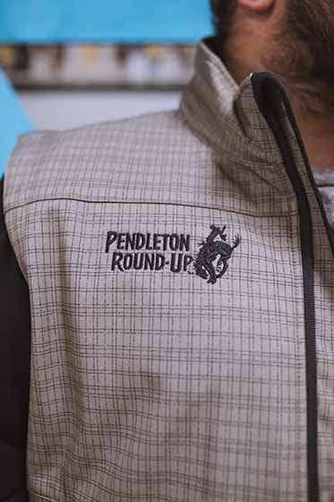 Men's Cinch Pendleton Round-Up Plaid Vest