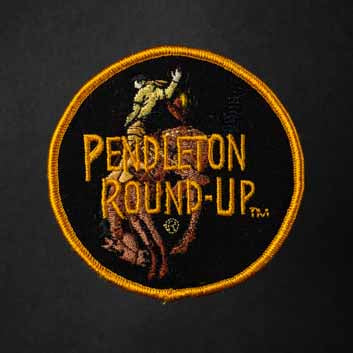 Pendleton Round-up Full Color Bucking Horse Patch