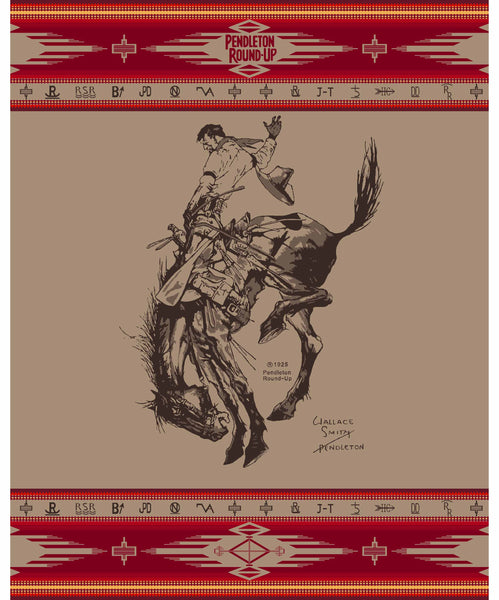 Official 2020 Pendleton Round-Up 110th Anniversary Limited Edition Blanket