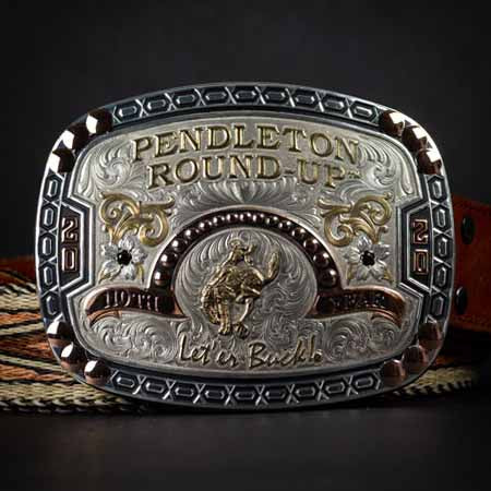 2020 Official Pendleton Round-Up Buckle