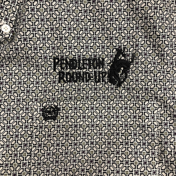 Men's Cinch Pendleton Round-Up Long Sleeve Button Up