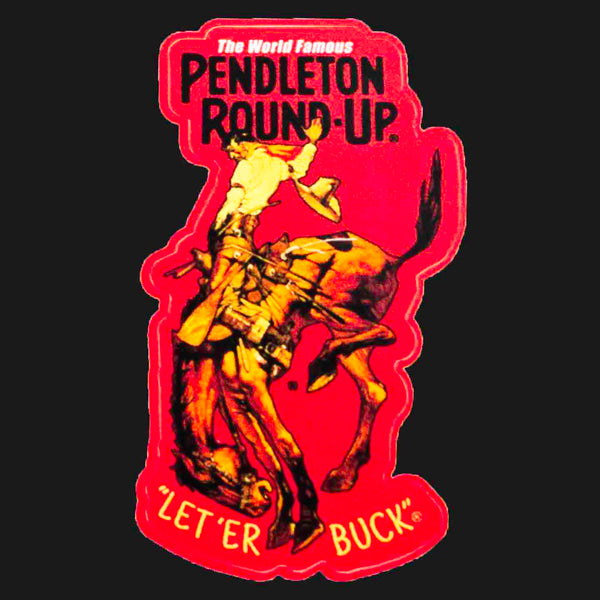 Pendleton Round-Up Sticker - Small
