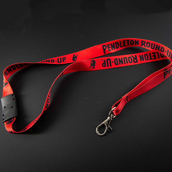 Red Pendleton Round-Up Lanyard